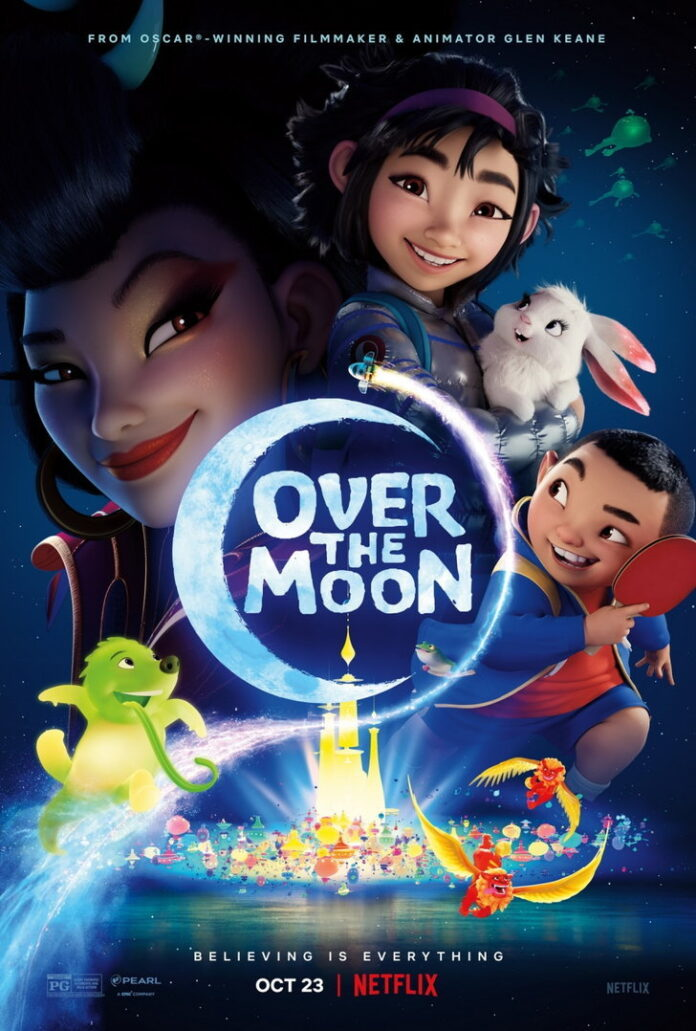 Over The Moon แอนิเมชั่น
